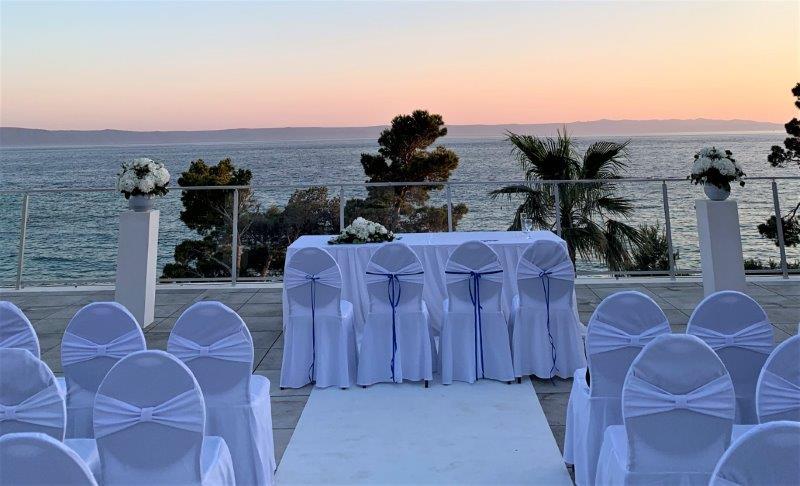 Ślub na tarasie