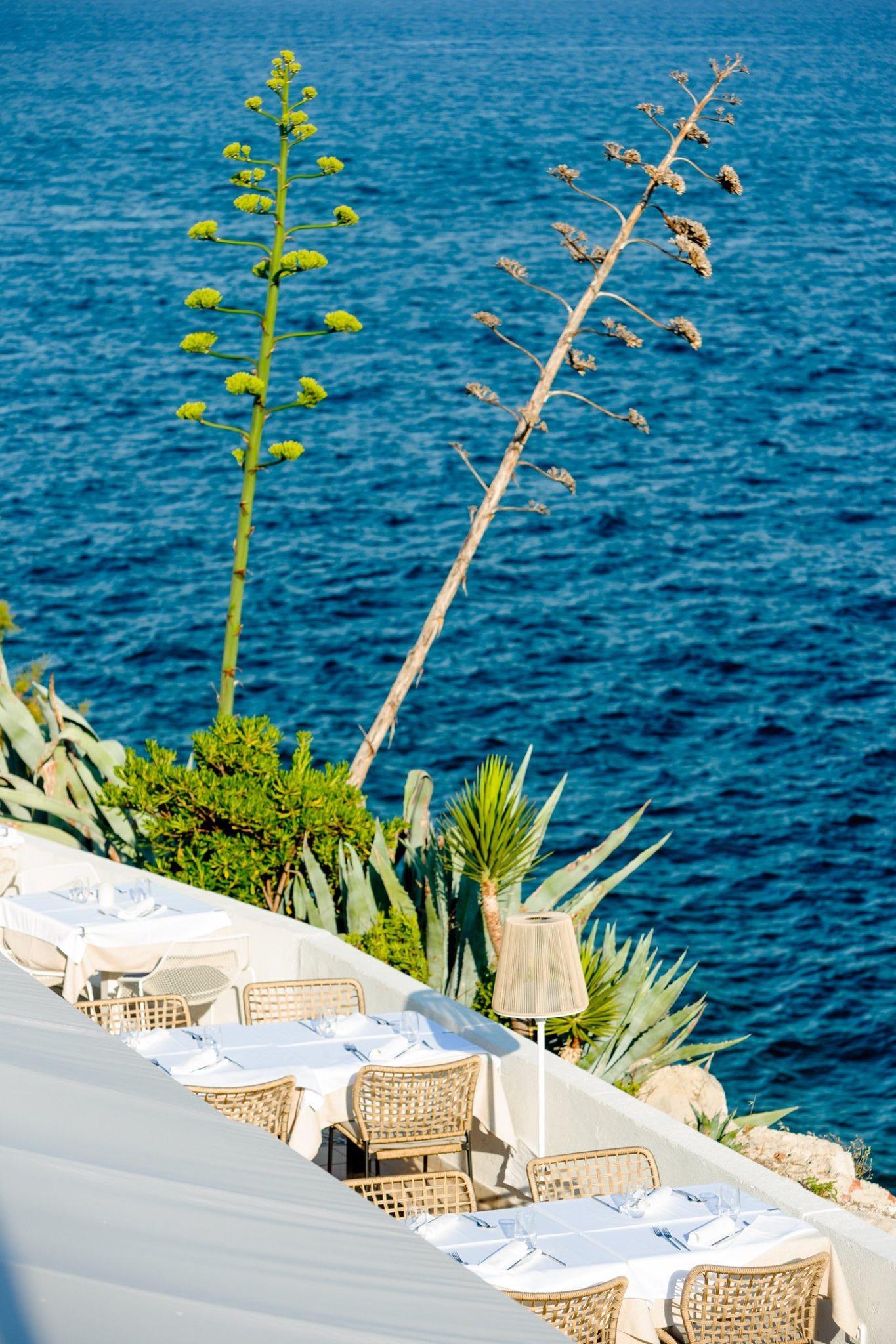 Restauracje z widokiem na morze